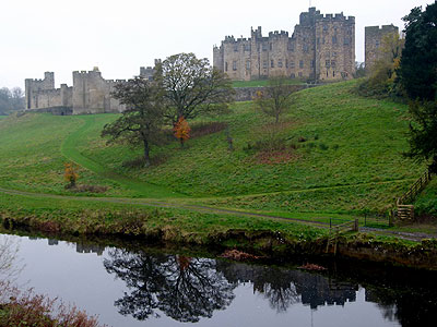 alnwick castle how to get there