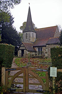 Travel for Chaldon church mural